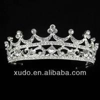 Hot sale!!!handmade full and new arrival fashion king crown decorations