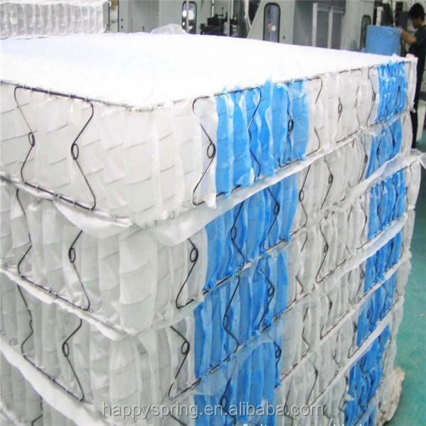 2015 Pocket Mattress Spring Bed Base Roll up Pocket Spring Mattress Pocket Coil Spring Mattress