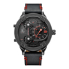 WEIDE UV1506B-2C 2018 Alibaba express Weide watches men, China wrist watch man quartz leather chronograph china watch