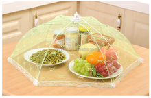 Cheap table food cover mesh food cover fly net food cover