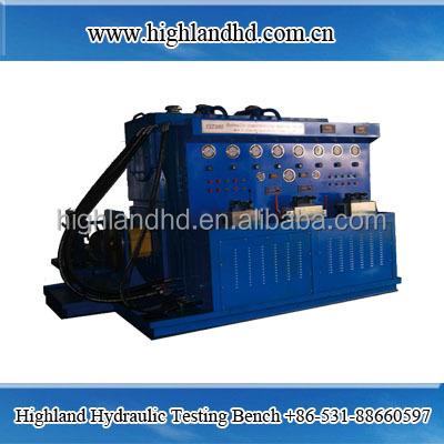 hydraulic valve test bench for reparing industry
