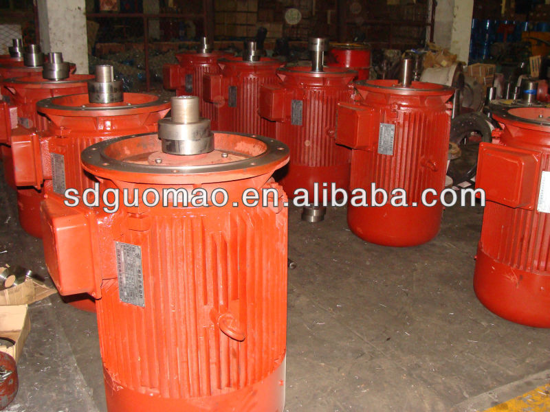 China Guomao Y2 series AC industry 3 phase ac industrial AC electric Cooling fan motor 90KW