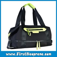 Weekend Gym Sports Bag Women Neoprene Handbags Brand