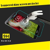 Best selling Anti-fingerprint water-proof tempered glass screen protector for LG G2 mobile accessories accpet paypal