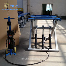 NHT Factory Price CE ISO Portable Movable Hydraulic Scissor Car Lift For Sale