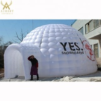 2019 giant outdoor inflatable bubble lawn tent for rent
