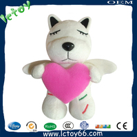 Custom plush dog toy for kids