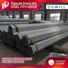 schedule 40 thin wall galvanized steel 6 inch pipe factory