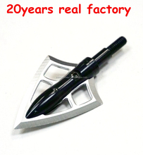 OEM 2fixed balde broadhead in blister packing for outdoor hunting archery