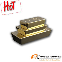Cheap Custom Made 24K Gold Clad Bullion Bars and Bricks