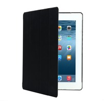 Haissky leather stand case blank white aluminum insert 2D sublimation case for ipad 2/3