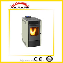 freestanding wood pellet stove fully automatic heating easy handle fireplace