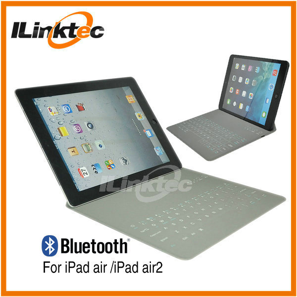 Factory supply mini bluetooth keyboard case with touchpad for ipad 9.4 inch