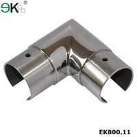 316 stainless steel slot tube joiner