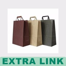 Taobao Custom Disposable Recycled Shopping Die Cut Paper Bag
