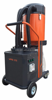 High Quality Single-phase Concrete Vacuum Cleaner for Dry Grinding of Natural Stone&Concrete