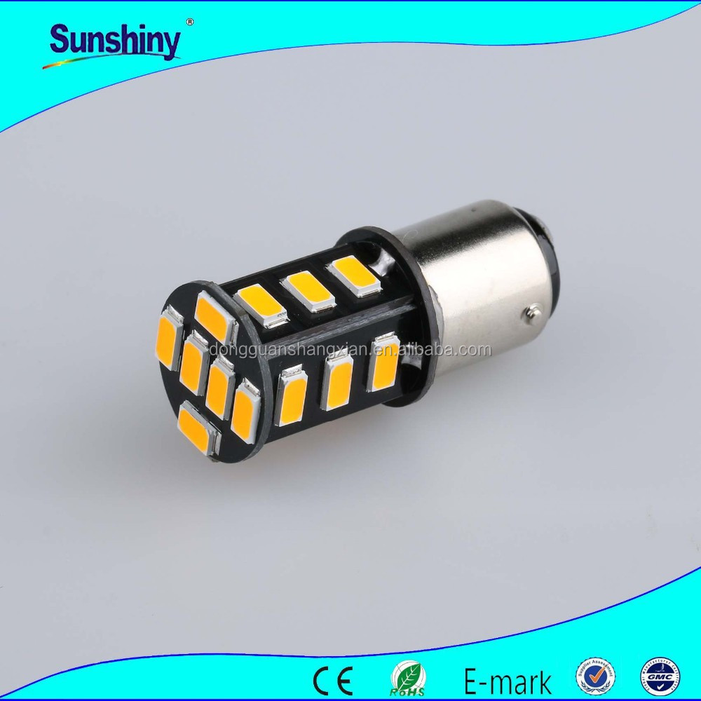 BA15S-18smd-5630 Canbus LED Brake light, turn light head lamp high power led motorcycle led turn signal light