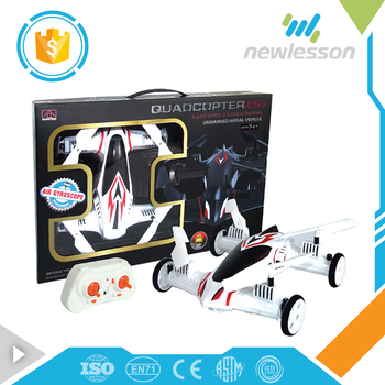 Hot sale low price dual mode remote control car quadcopter drone for children