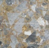 Yellow galaxy marble