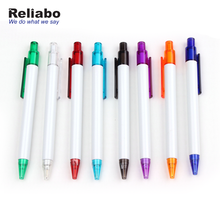 Reliabo Cheap Promotional Stationery Personalized Multi Color Plastic Ball Pen With Logo