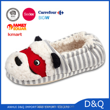 Kids animal slippers cute 3D dog children shoes