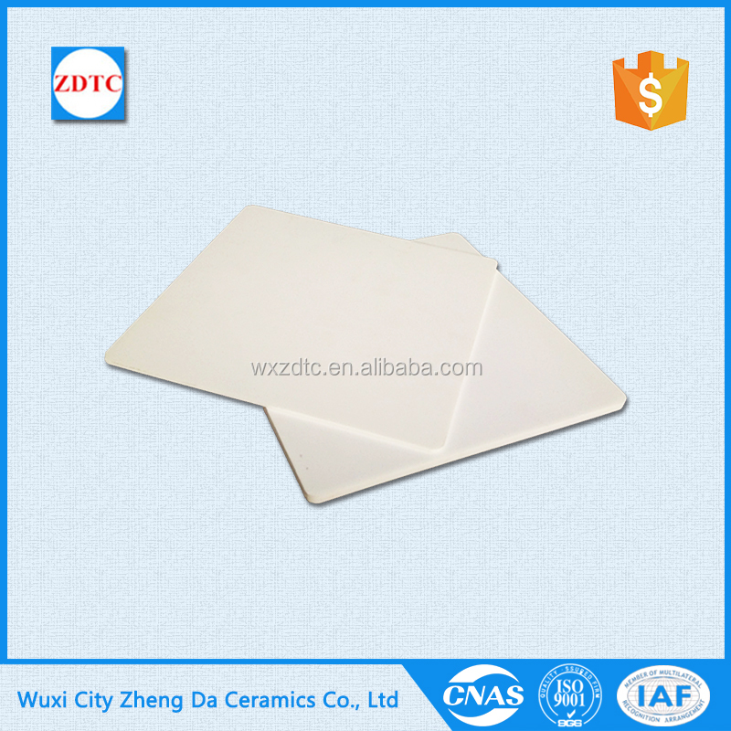 Low price manufacture 95 al2o3 high alumina ceramic plate