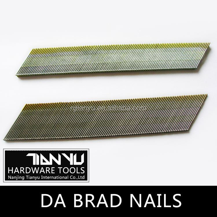 High quality Galvanized DA brad nails roofing nails with washer
