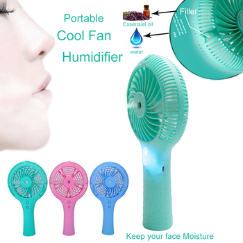 mini rechargeable humidifier outdoor mist portable water spray fan