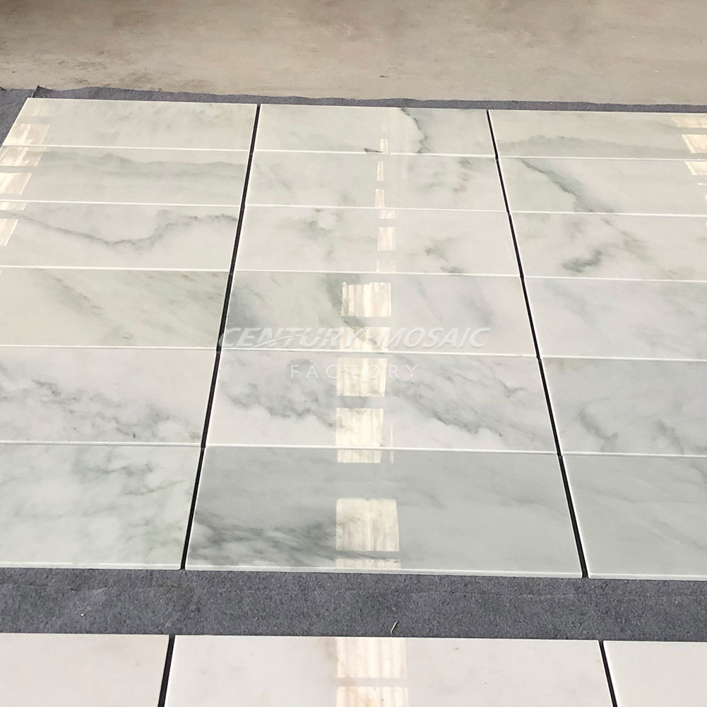 Cheap Price Natrual Stone Louis Green Marble Tile for Wall and Floor
