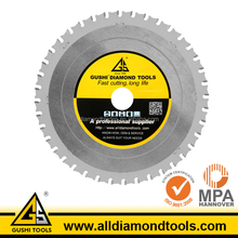 TCT Metal Cutting Circular Saw Blade for Stainless Steel