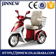 60V 500W electric tricycle with 1 seat for elder and disabled