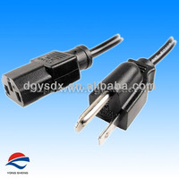 1ft 18AWG Power Cord Cable W