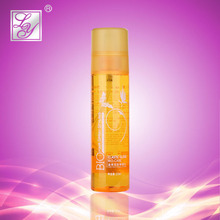 Natural looking 210ml curling hair styling products