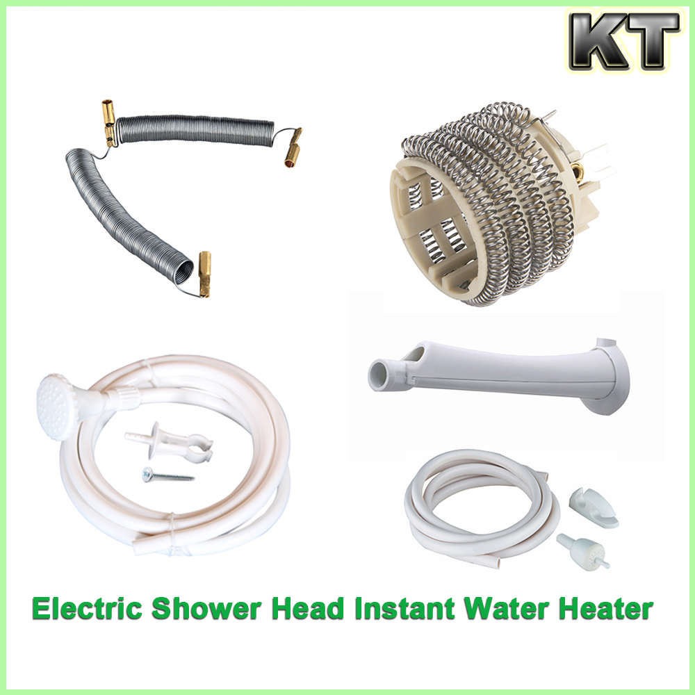 shower water heater parts