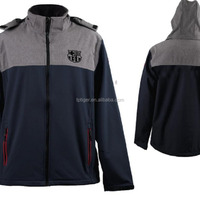 Softshell Jacket Men Cationic Softshell Fabric