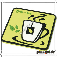 Guangdong Supplier Custom Made Soft PVC Unbreakable 3D Cup Coaster For Promotion Gift