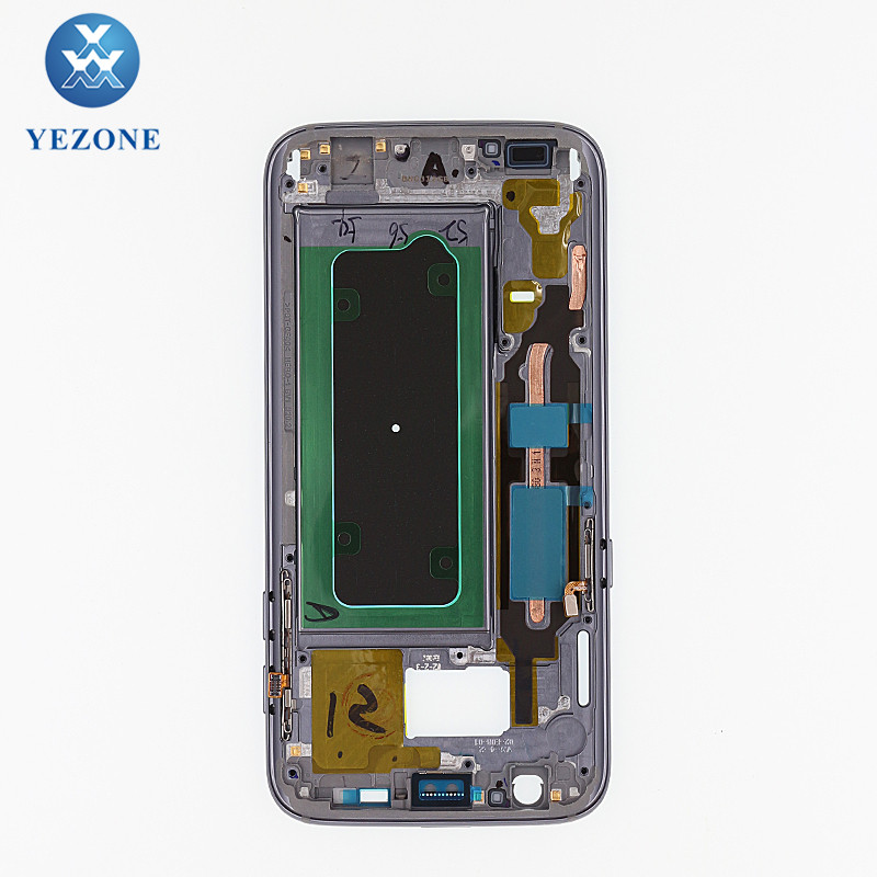 Wholesale A Bezel For Samsung Galaxy S7 G930 G930F G930A Front Frame Housing Replacement