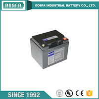 12v45ah agm marine storage battery for backup widely used ups battery 12v 45ah made in China
