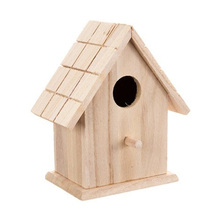 Wooden Pigeon Build Porcelain Pet Small Wood Crafts Bird House