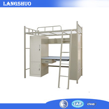 Wholesale High Quality Double Bed Heavy duty Steel Metal Bunk Bed Furniture Bedroom