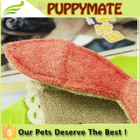 different shoes shape healthy dog bite loofah dog toys for sale/ pet products
