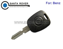 High Quality Remote Blank Key For Mercedes Benz Transponder Key Shell HU39