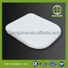 CF051Q sanitary ware white square pp new style slow drop pp white toilet seat cover