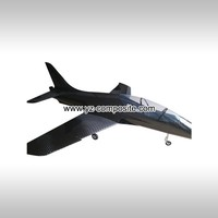 Carbon fiber airplane model