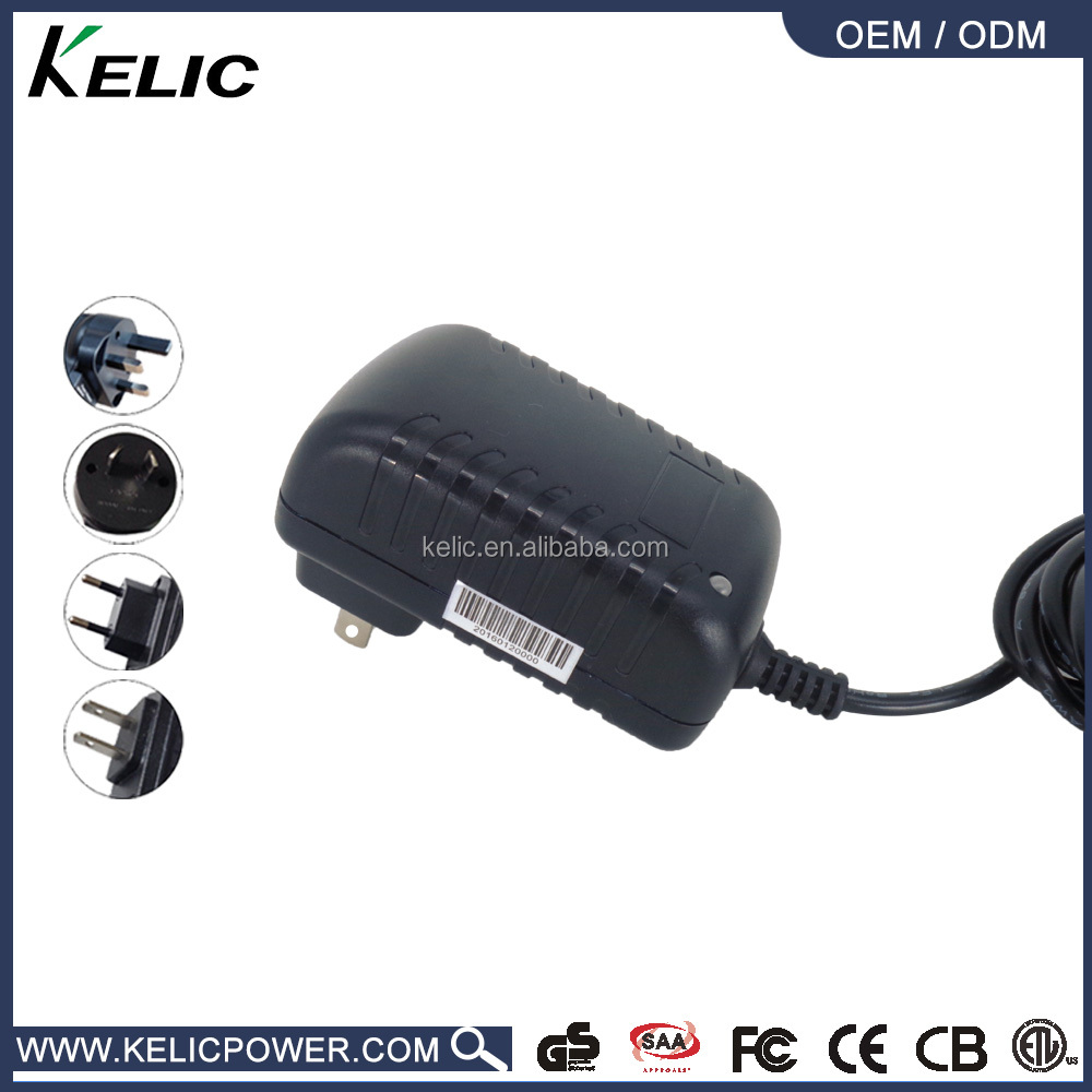 Large supply good quality 13v 1a ac adapter