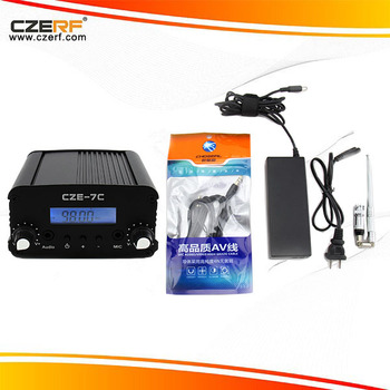 CZE-7C 7w pll FM Transmitter Kits Long Range Transmitter professional power amplifier