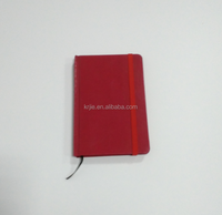 Hot Sale Mini Note Pad Custom PU Leather Paper Notebook With Elastic Band