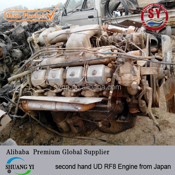 second hand UD(Nissan Diesel) RF8 Engine from Japan