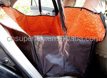 Universial Car Acceptable Pet Seat Cover Dog Cat Back Seat Protector With Side Panel