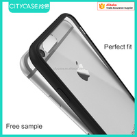 city&case shockproof tpu pc phone case for iPhone 6 6s case